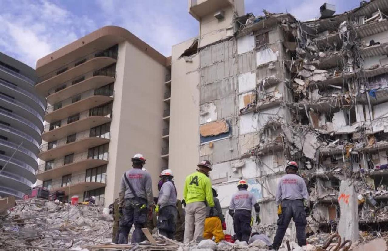 Partially collapsed Miami condo to be demolished