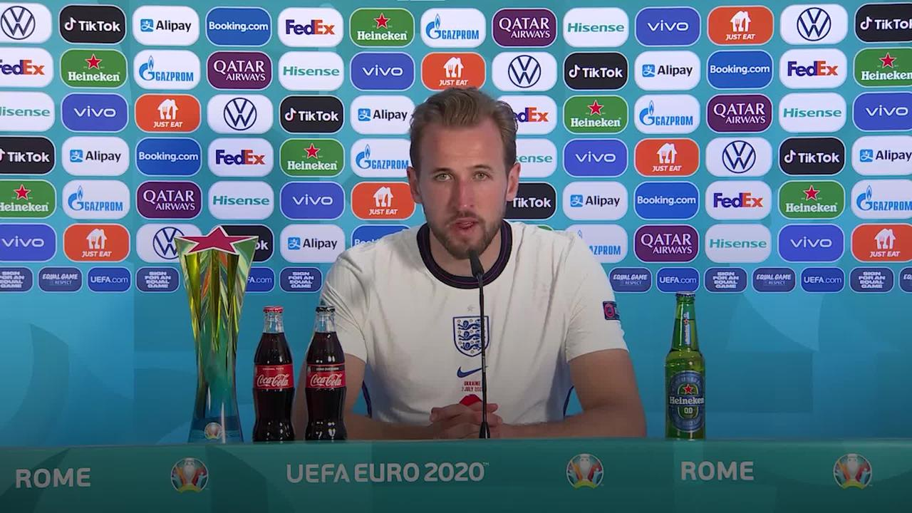 Harry Kane hopes to turn World Cup hurt into European Championship success