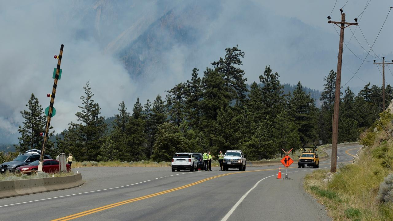 Evacuations ordered as wildfires rip through Canada's west coast
