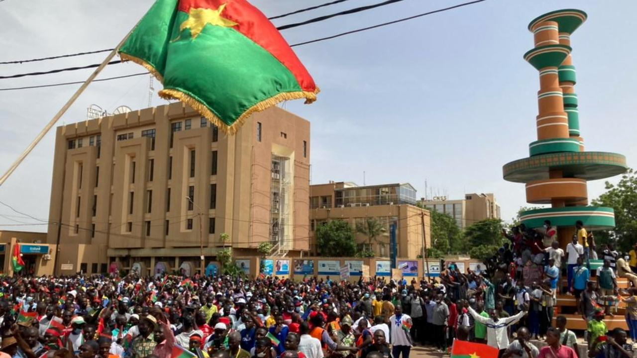 Burkina Faso protesters demand gov't response to rising bloodshed