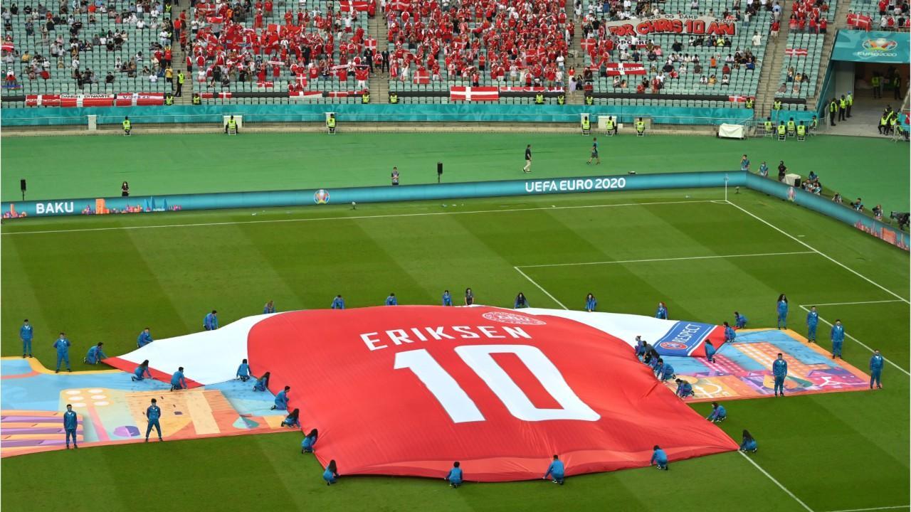 FEMME ACTUELLE - Euro 2021 : Christian Eriksen réapparaît en forme après son malaise cardiaque