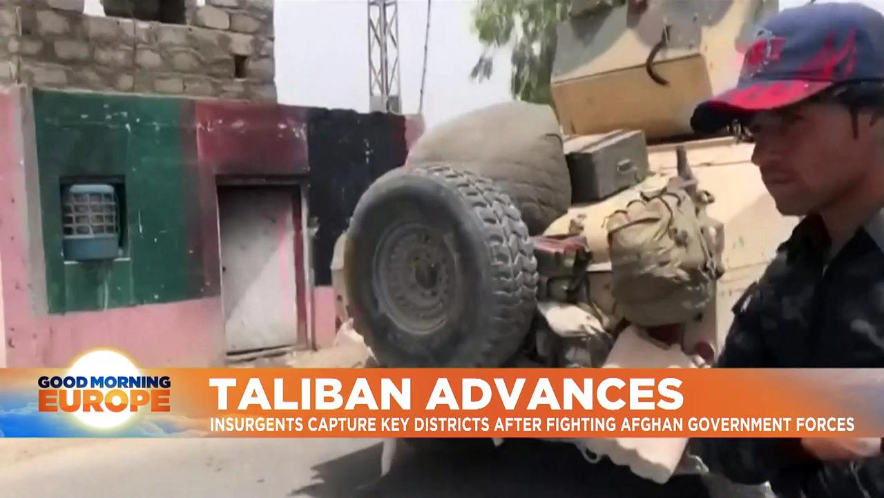 Afghanistan: Taliban captures territory as NATO withdrawal continues