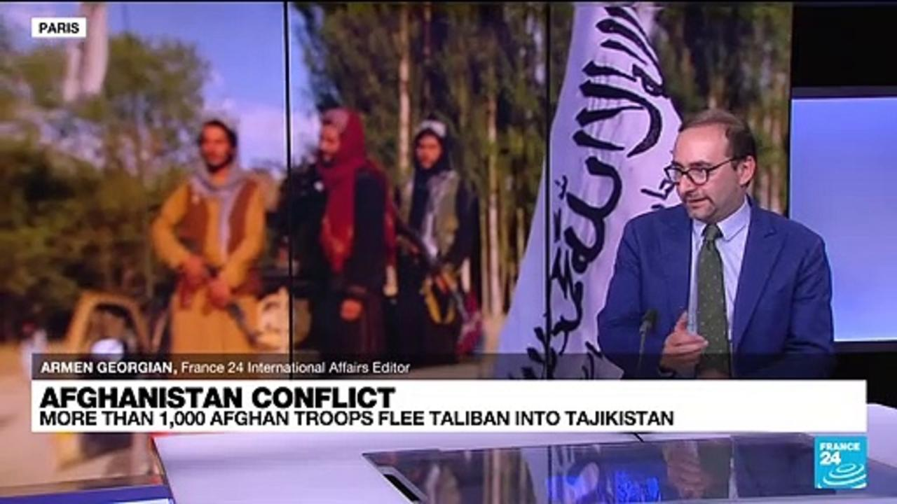 Over 1,000 Afghan troops flee Taliban into Tajikistan