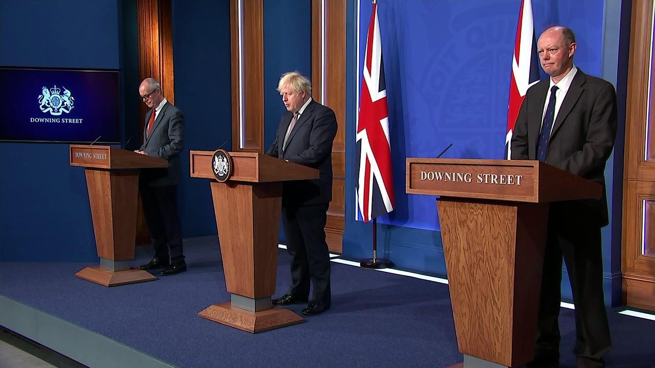 Boris Johnson confirms plan to end Covid legal restrictions