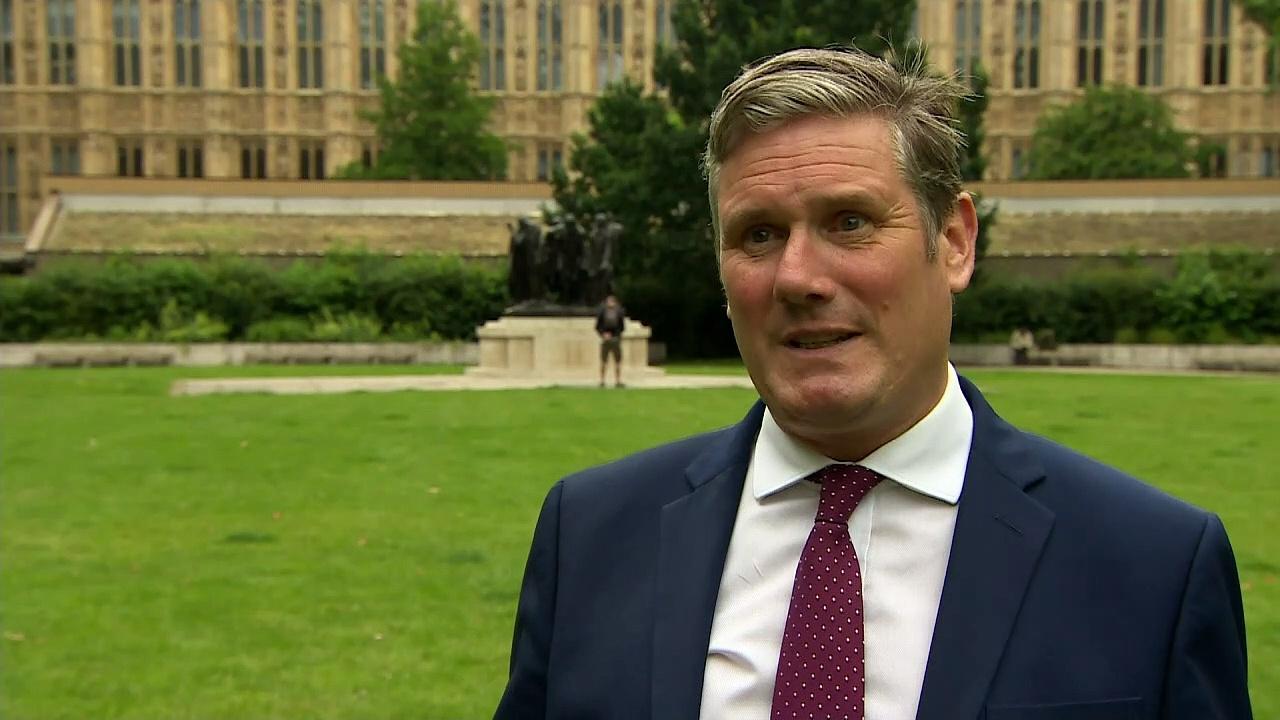 Starmer criticises Johnson's 'reckless' Covid unlocking plan