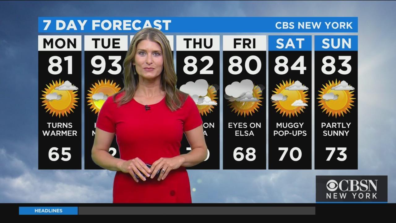New York Weather: CBS2 9 p.m. Forecast
