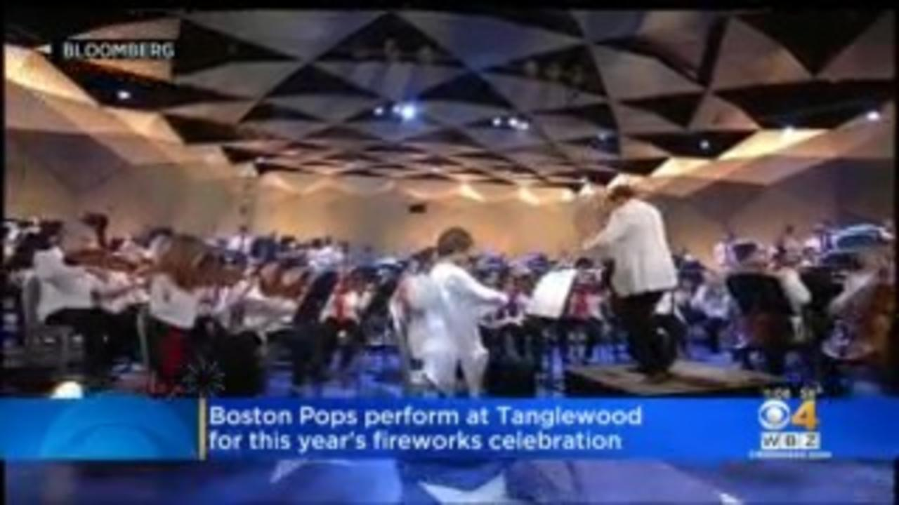 Boston Pops Perform At Tanglewood For Fourth Of July
