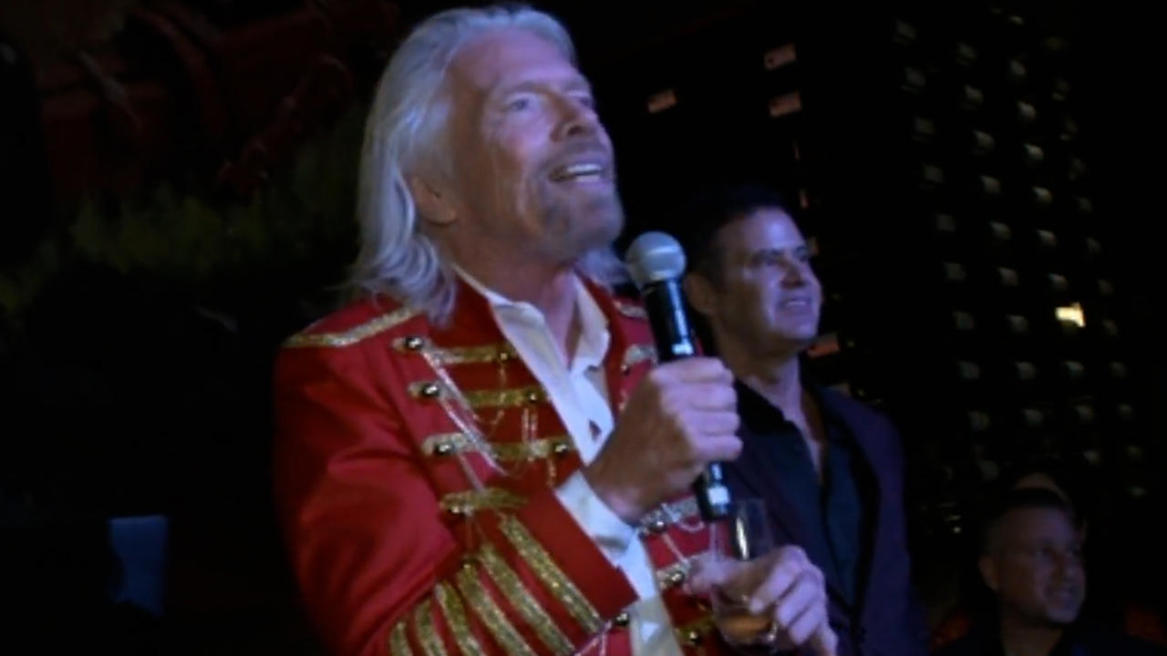 Richard Branson to travel to space before Jeff Bezos