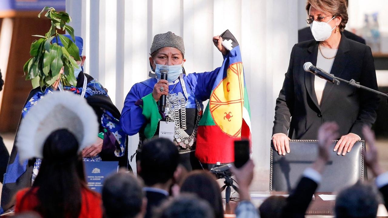 Mapuche woman to lead body drafting Chile's new constitution