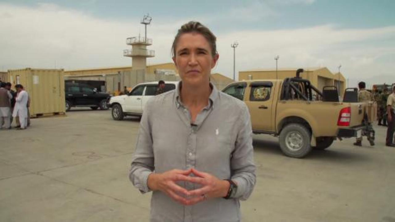 See inside Afghanistan's 'deserted' Bagram Airfield after US withdrawal