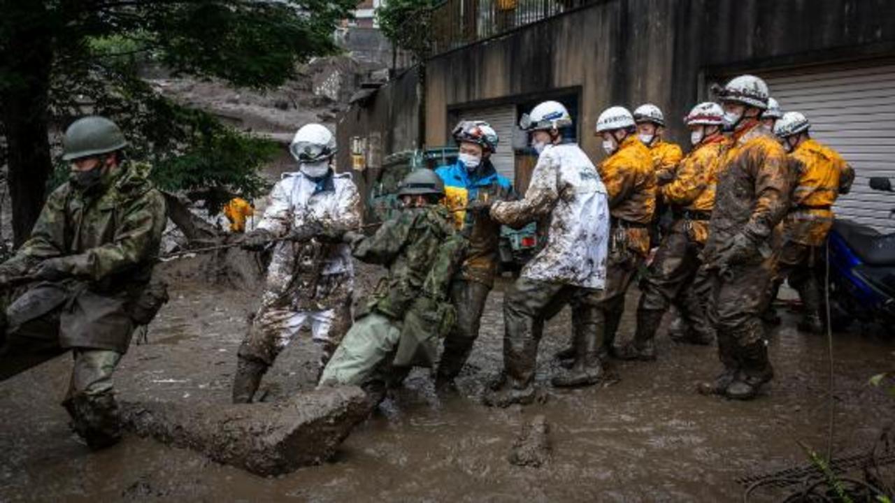 Rescue efforts underway in Japan after deadly landslide