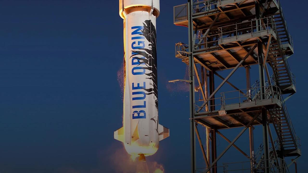 Blue Origin: The race for a ticket to space