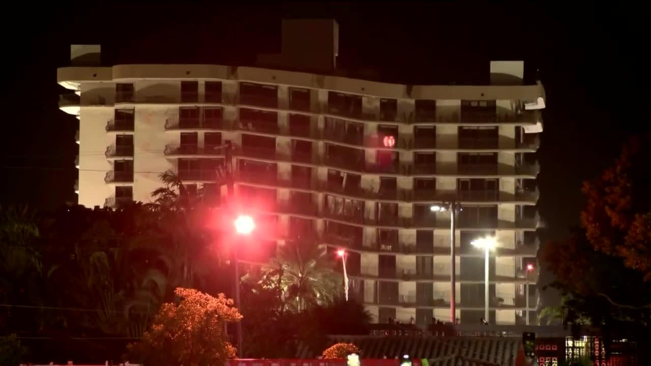 Search back on after rest of South Florida condo demolished