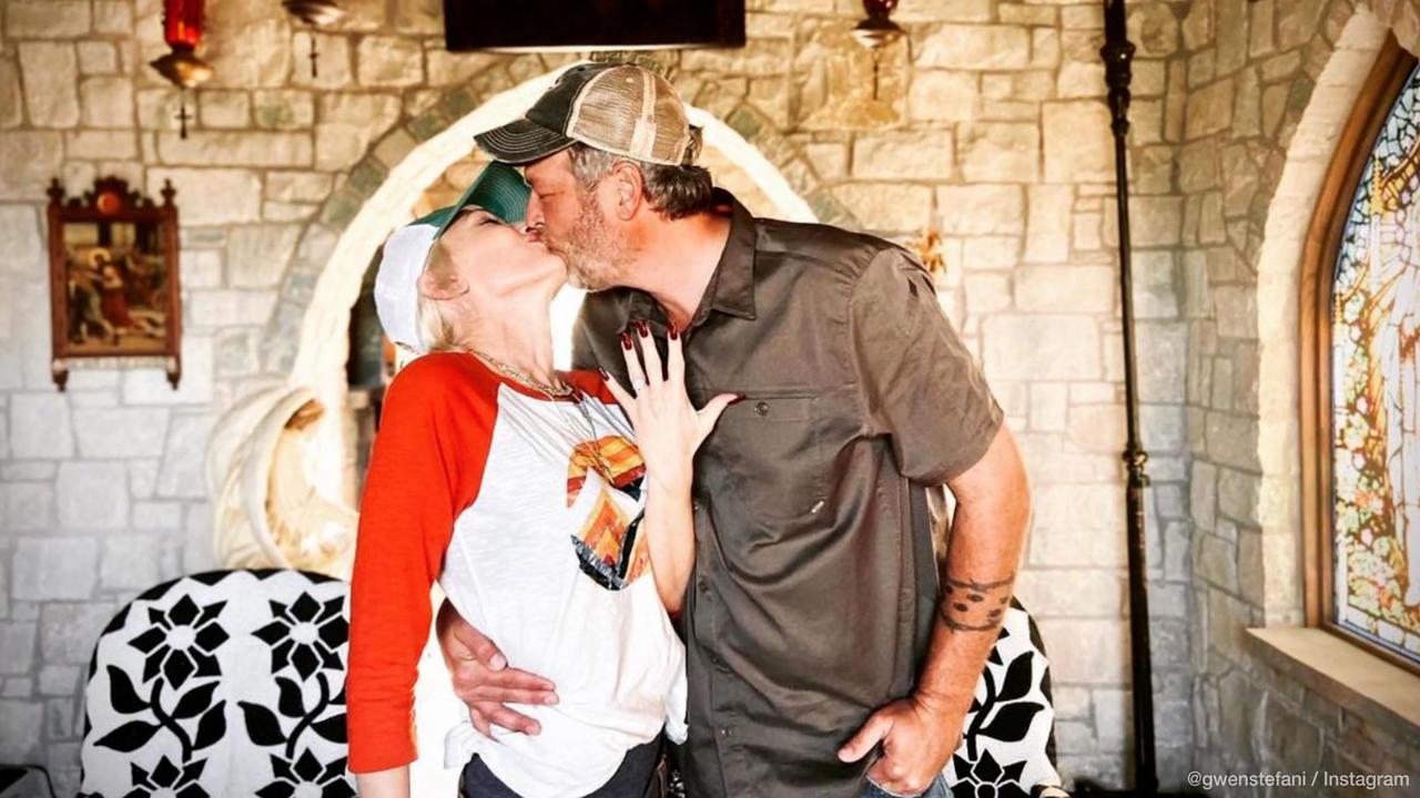 IN CASE YOU MISSED IT: Gwen Stefani & Blake Shelton reportedly wed in Oklahoma