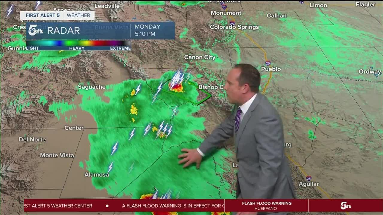 PM storms back in the forecast Tuesday