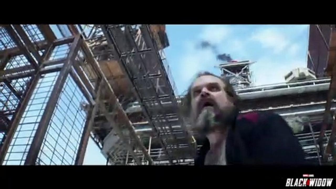 Black Widow Movie Clip - Prison Break