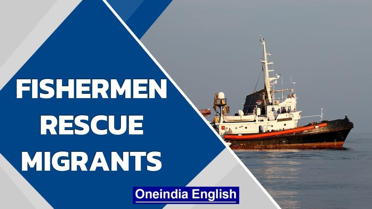 Lampedusa's fishermen rescue refugees