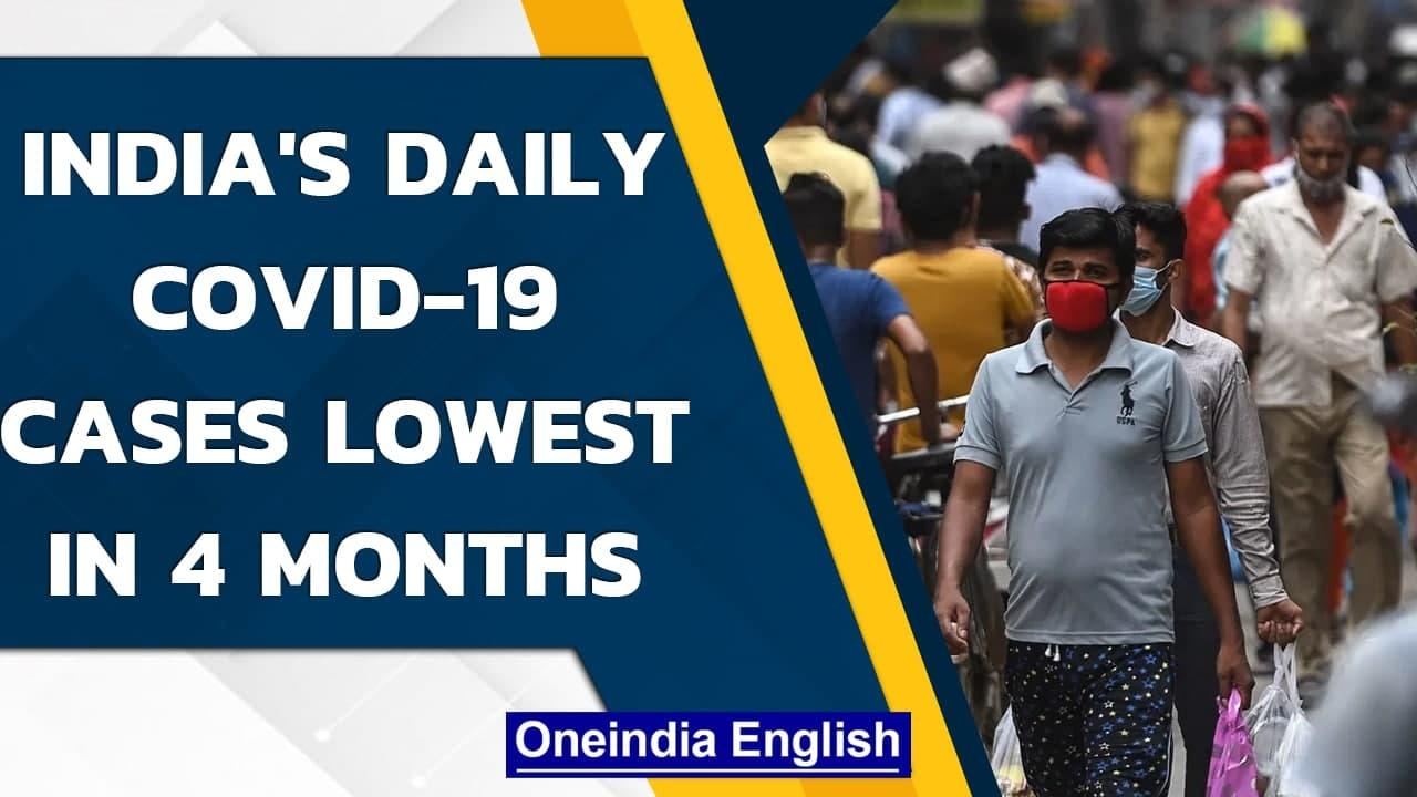 Covid-19: India records 34,703 new cases and 553 deaths, lowest in 111 days| Oneindia News