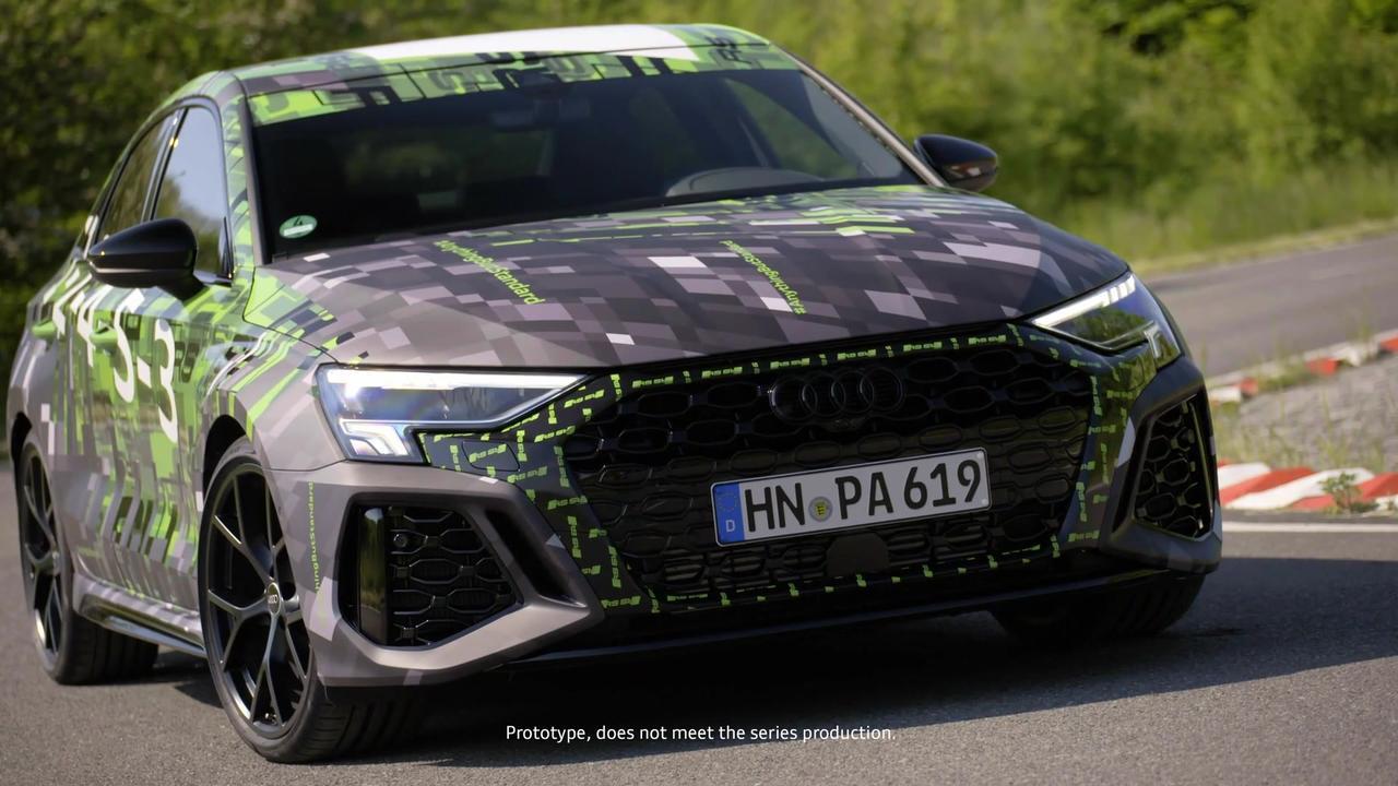 Audi RS 3 Sedan prototype Design Preview