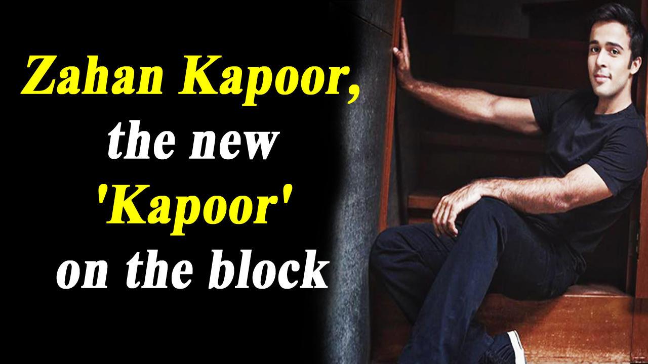 Shashi Kapoors grandson Zahan Kapoor to make his acting debut in Hansal Mehtas next