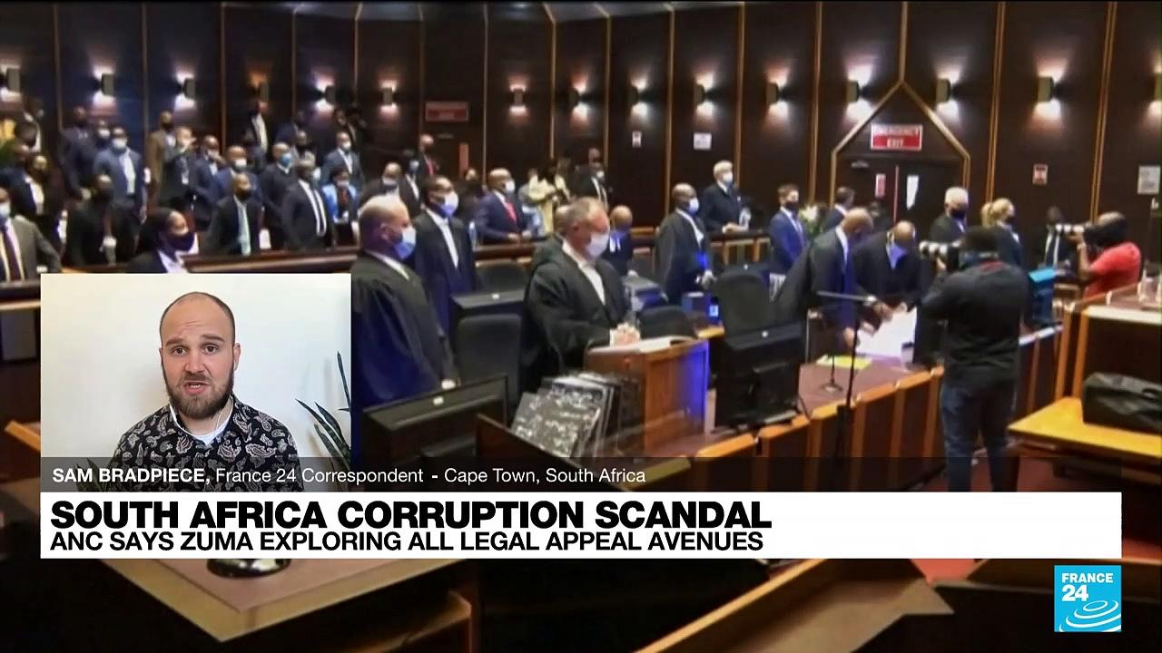 South Africa's ANC says Zuma exploring every legal avenue after jail sentence