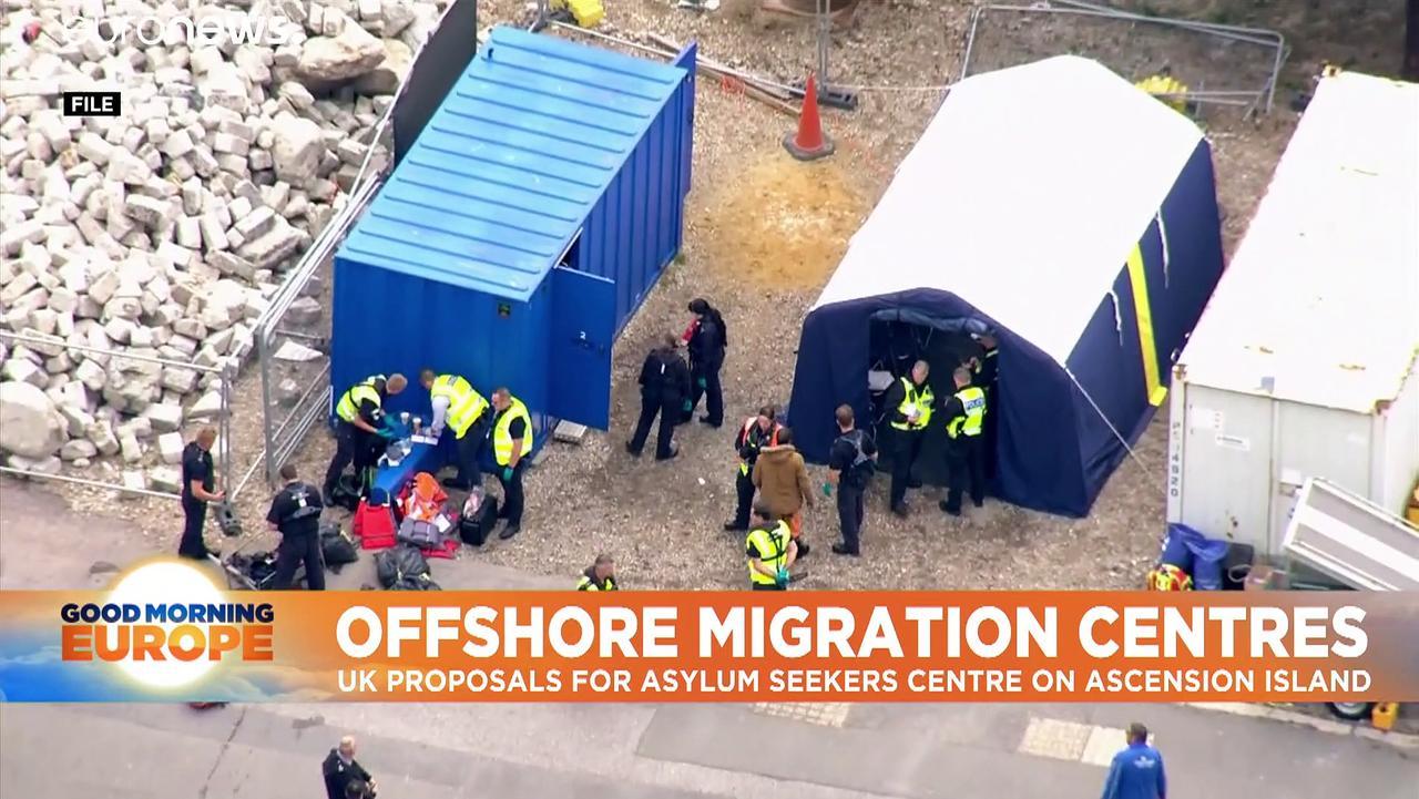 Priti Patel set to propose new Ascension Island reception centre for UK asylum seekers