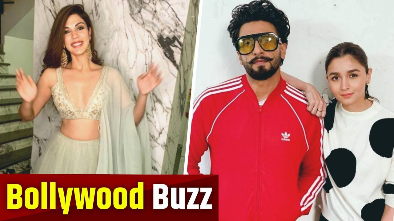 Rhea Chakraborty is 'healing' | Karan Johar announces next directorial film with Ranveer Singh, Alia Bhatt