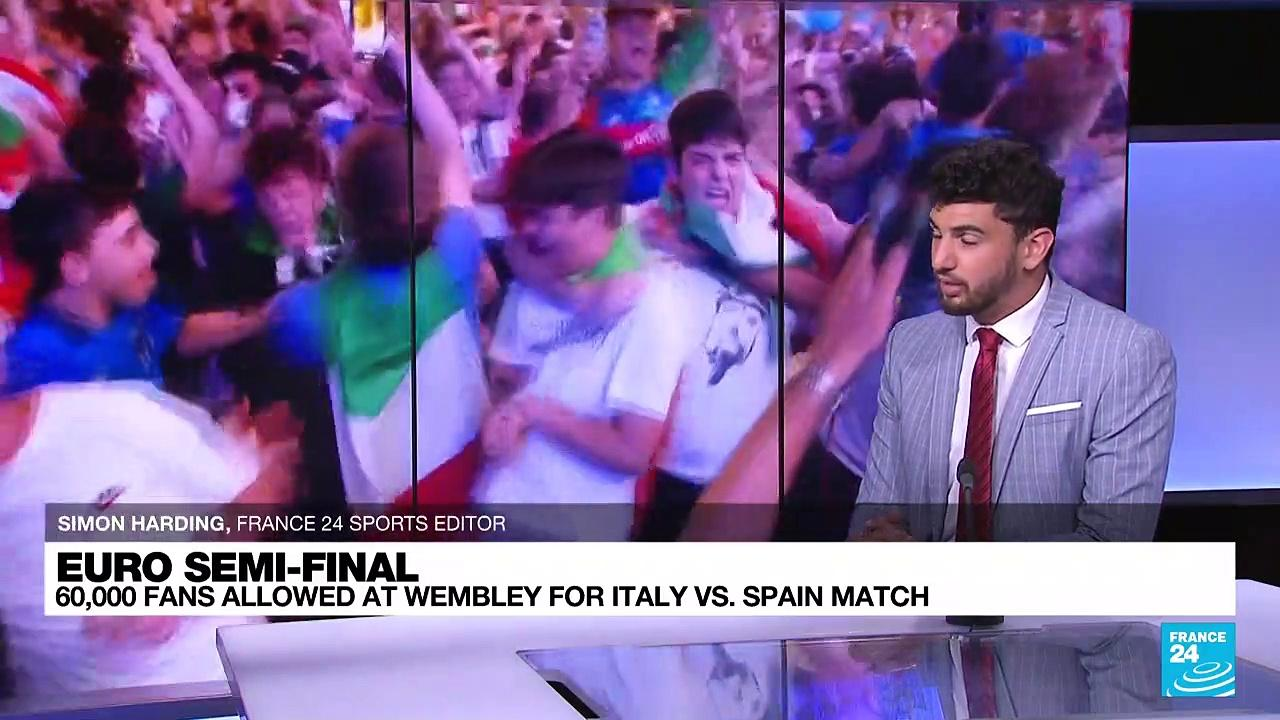 Italy and Spain clash in Euro 2021 semi-final as English anticipation builds