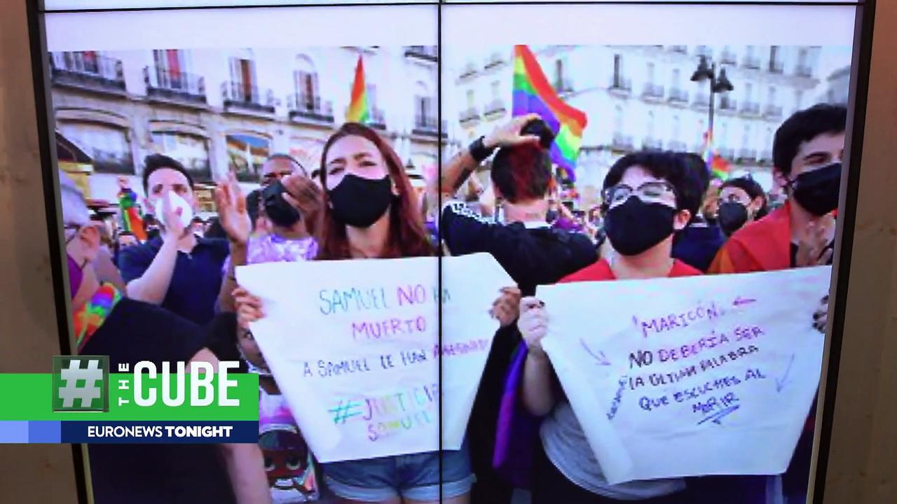 Nationwide protests held in Spain over suspected homophobic killing