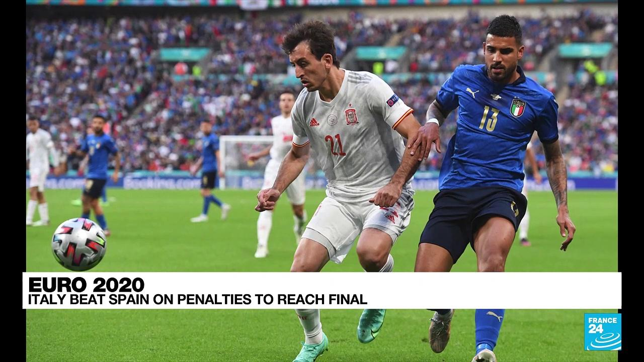 Euro 2021: Italy beat Spain on penalties to reach final