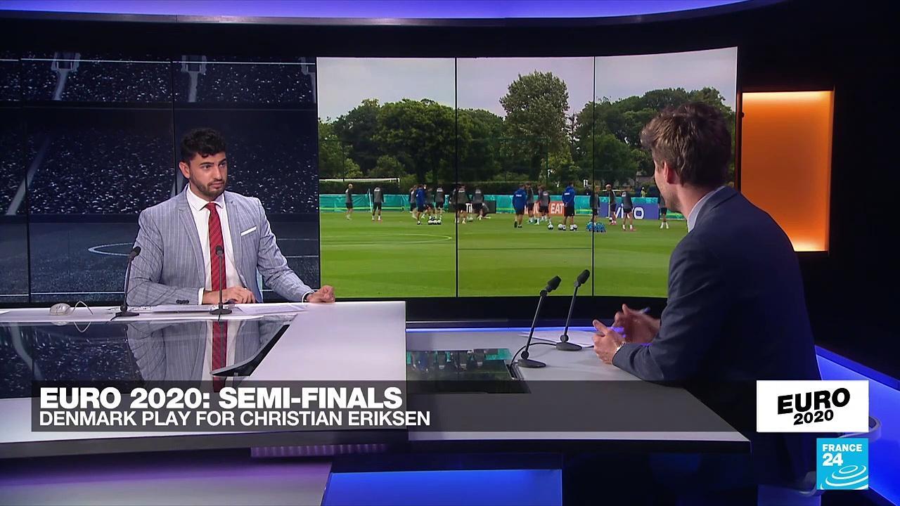 Denmark's Eriksen receives invite to Euro 2021 final