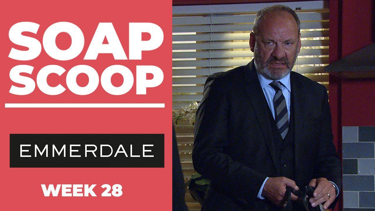 Emmerdale Soap Scoop! Jimmy's dramatic trial week