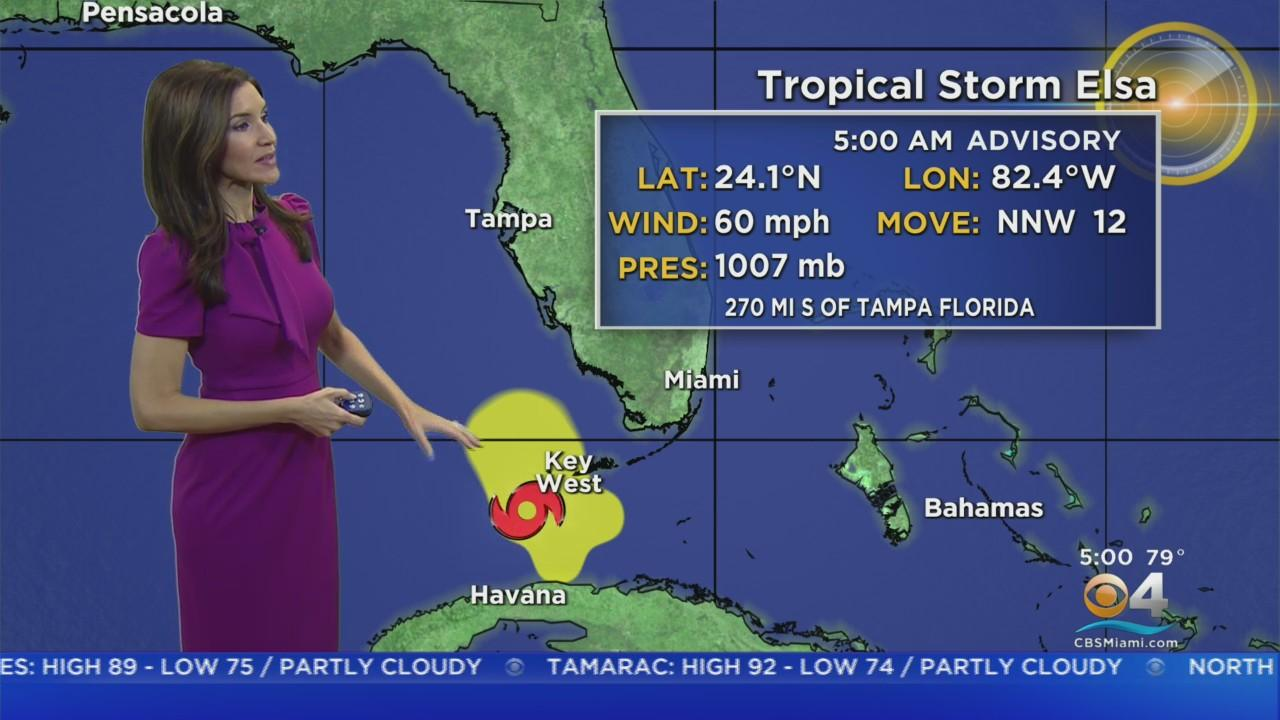 Tracking Elsa: Hurricane Watch Issued For Parts Of West Florida