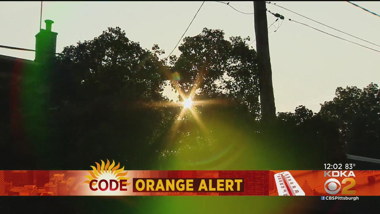 Code Orange Air Quality Action Day Issued For Several Pittsburgh-Area Counties