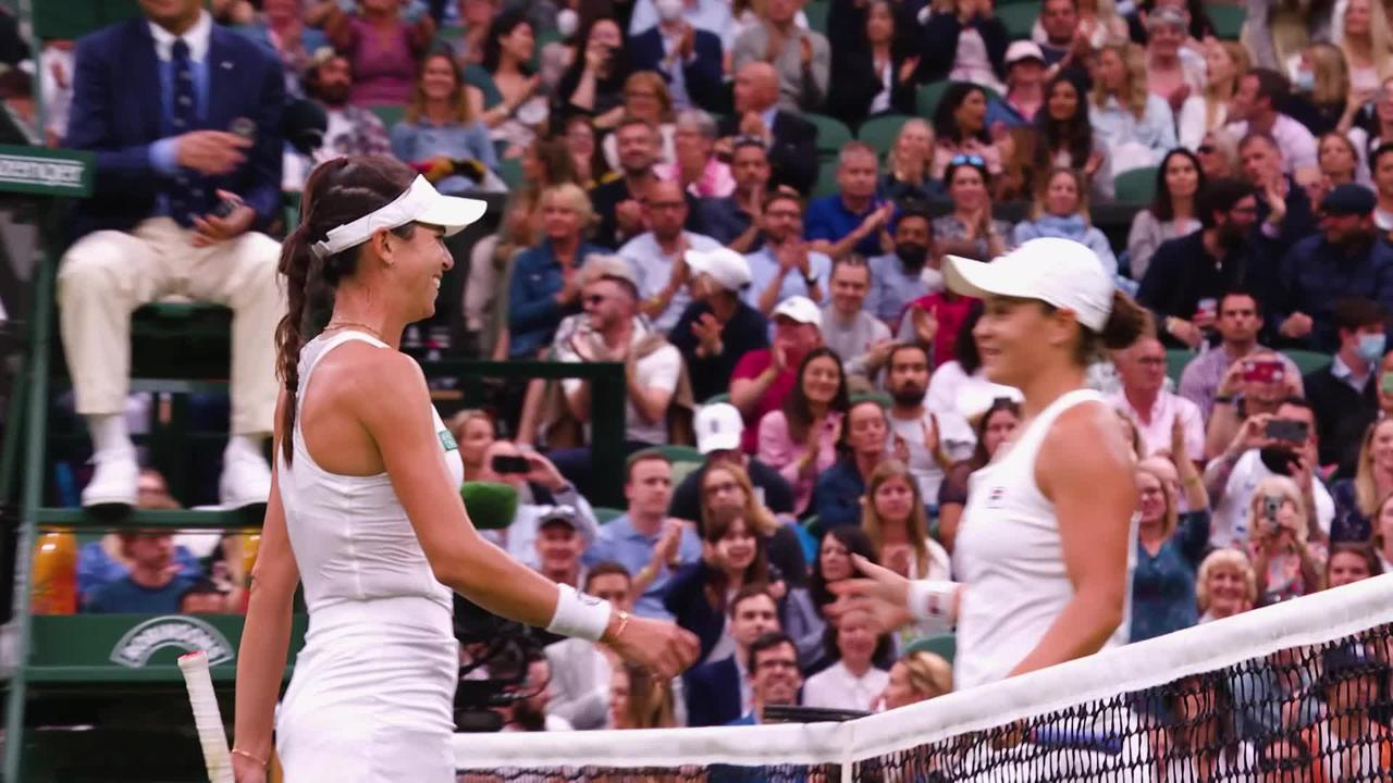 Wimbledon day eight: Highlights from SW19