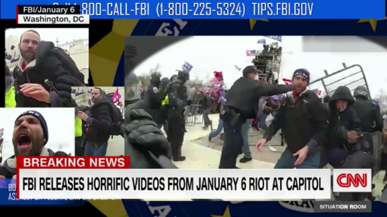 New riot video shows brawling at Capitol