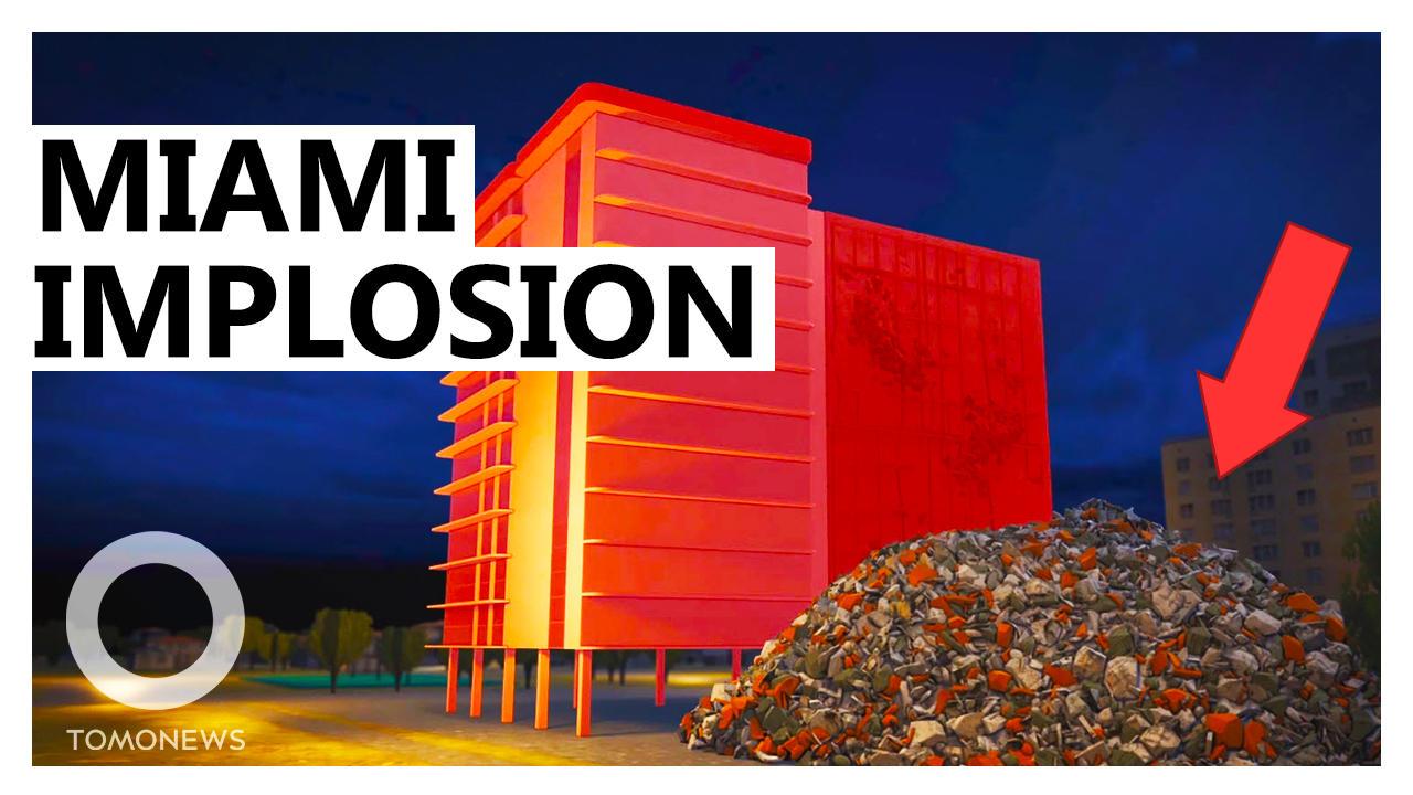 Walkthrough of Controlled Demolition at Miami Condo