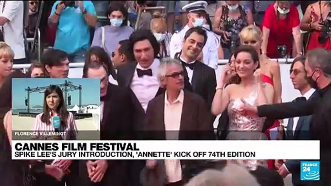 Cannes Film Festival : Spike Lee's jury introduction, 'Annette' kick off 74th edition