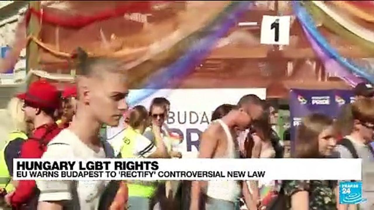 Hungary's anti-LGBT law comes into effect in face of EU criticism