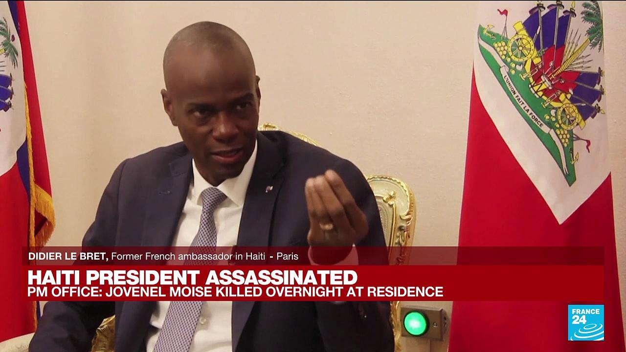 Haitian President Jovenel Moïse assassinated at home, first lady hospitalized