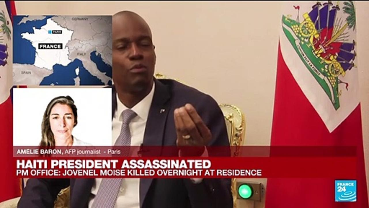 'The whole country in the doubt' after the assassination of haitian president Jovenel Moïse