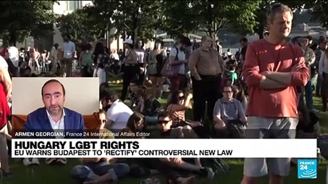 Hungary's new anti-LGBTQ law: 'It's a culture war'