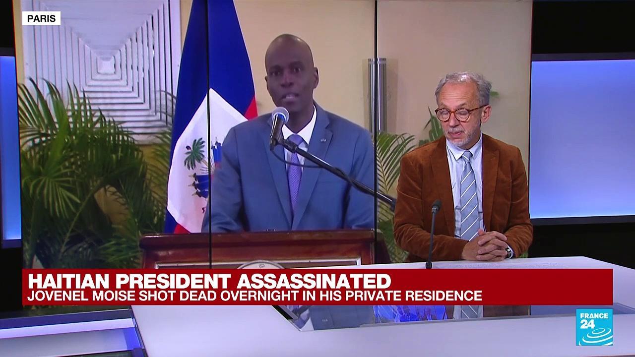 Haitian President Jovenel Moise shot dead overnight in his private residence