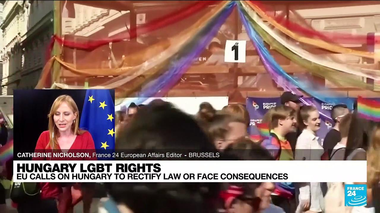 EU warns Hungary to fix anti-LGBTQ law or face action