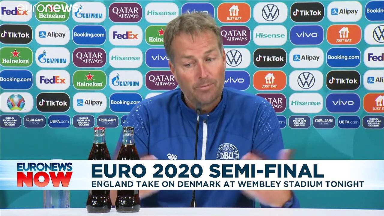 England take on Denmark in crucial Euro 2020 semifinal match