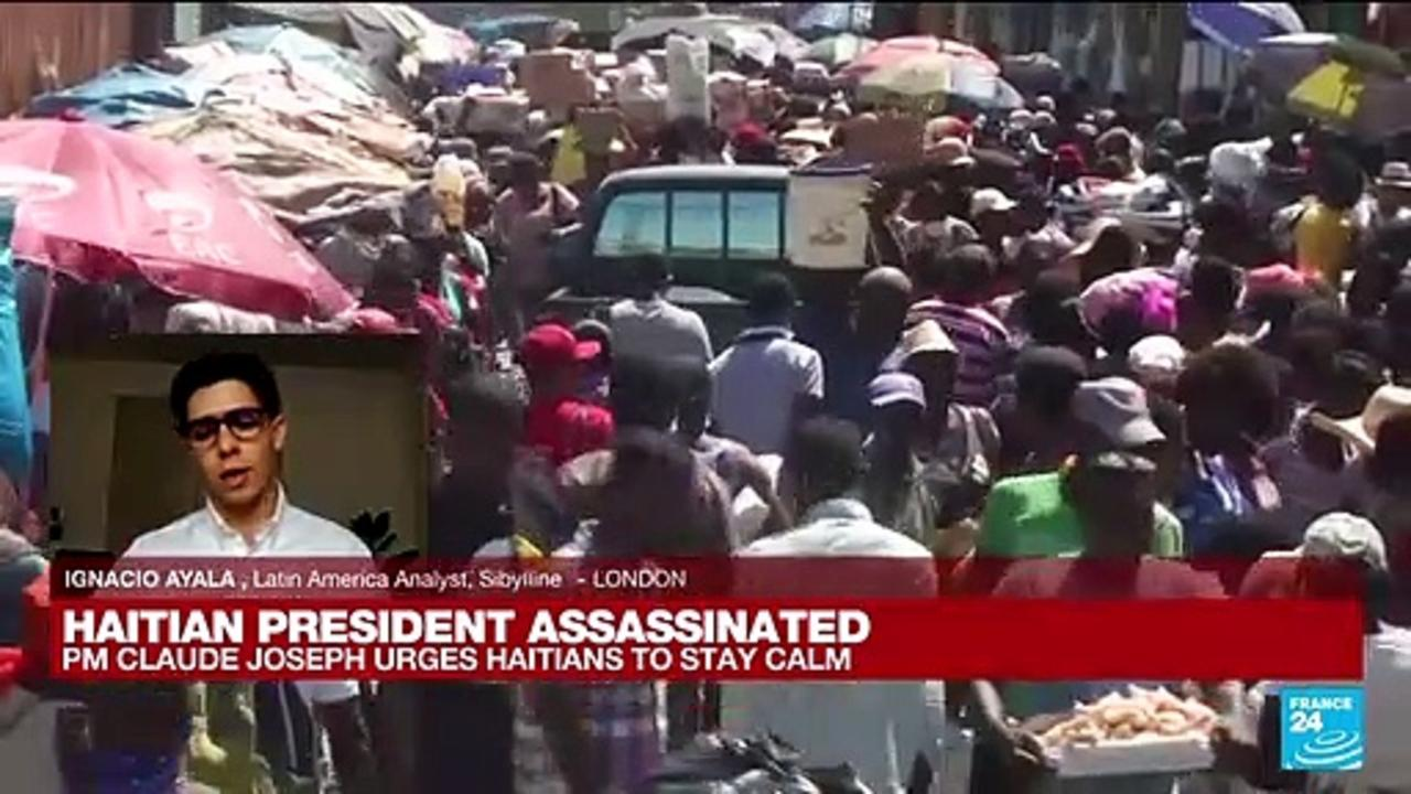 Haitian president assassinated at home in 'barbaric act', says Interim Prime Minister
