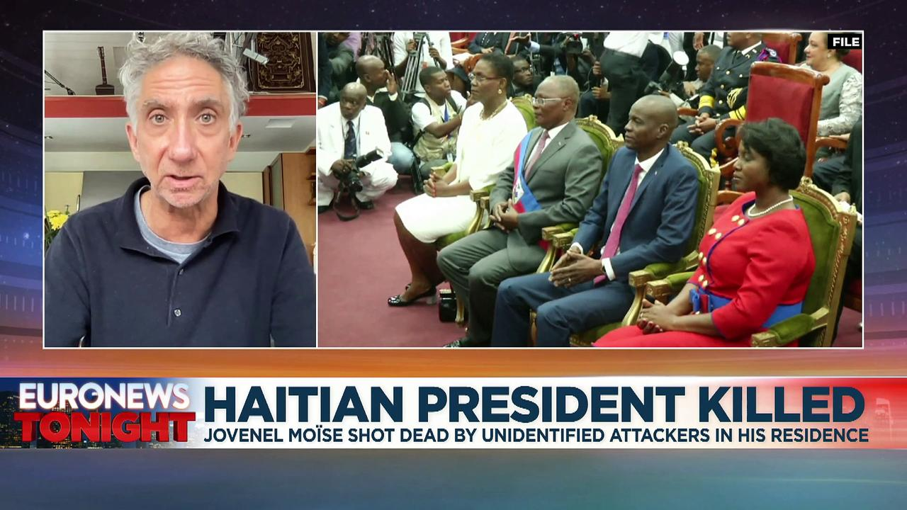 Haiti declares 'state of siege' after assassination of President Jovenel Moïse