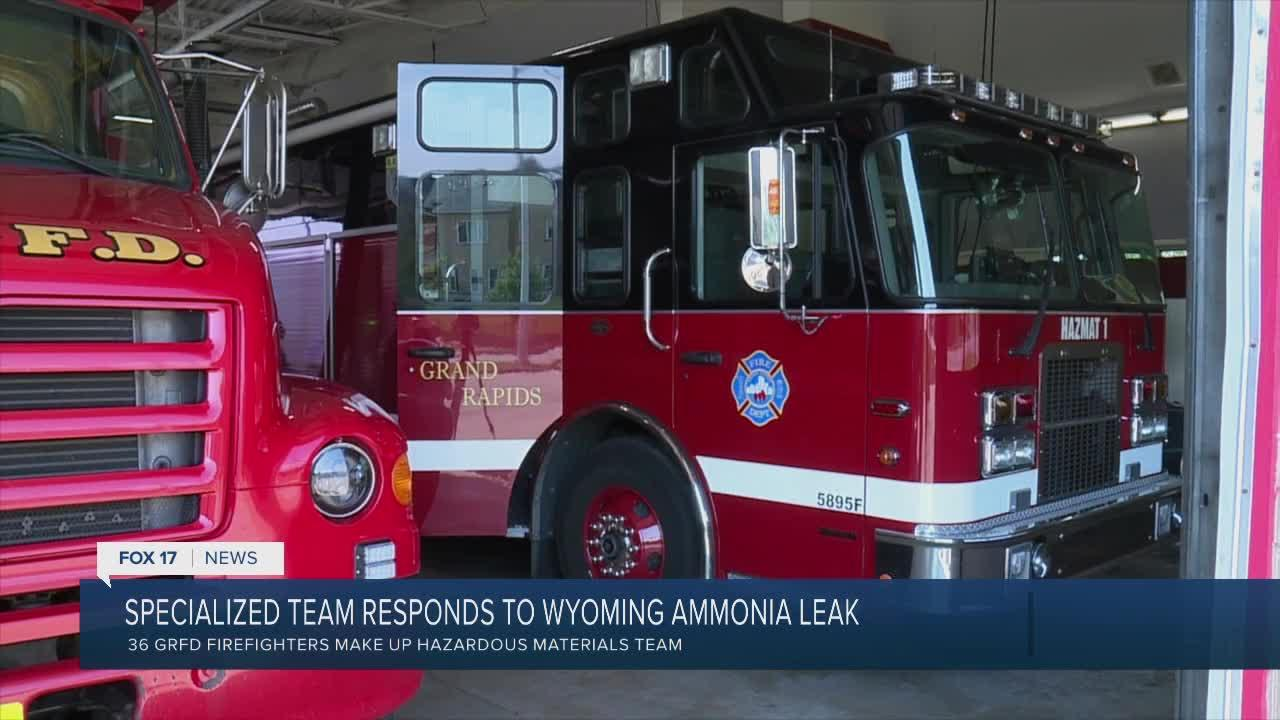 Specialized team responds to Wyoming ammonia leak
