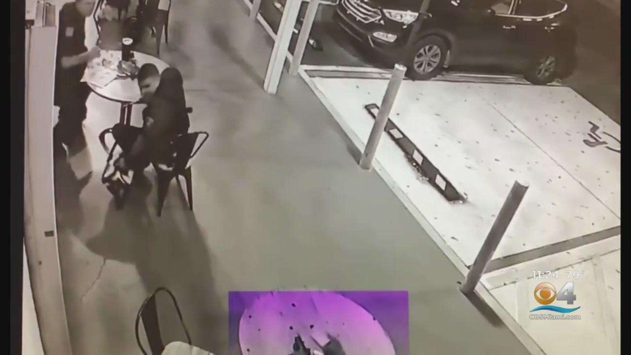 Caught On Camera: Man Arrested After Putting Loaded Gun On Table Pointing At Police Officers