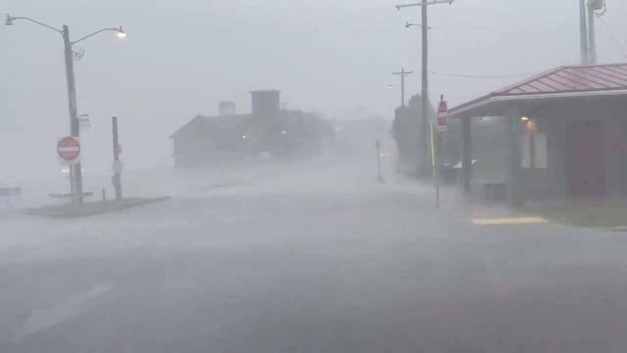 Hurricane Elsa batters western Florida with heavy rain and high winds